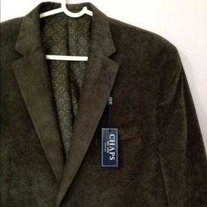 Chaps brown suit